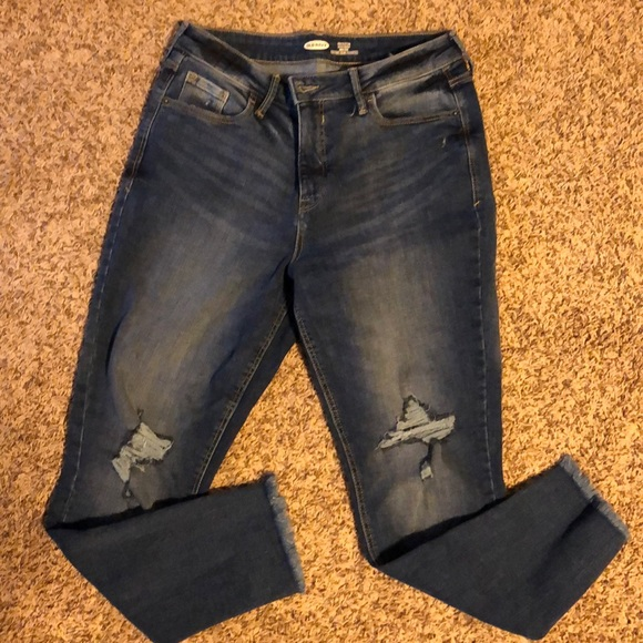Old Navy Jeans New Style High Rise Skinny Rockstar Poshmark